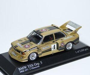 BMW 320i Grp.5 DRM 1977 Warsteiner GS-Tuning Obermoser Minichamps 400772305 1:43