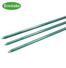 50x EcoStake Plant/Garden /Tomato/Training Stakes 6Ft 0.27-Inch Green