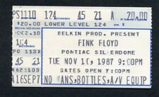 1987 Pink Floyd concert ticket stub Silverdome MI Momentary Lapse of Reason