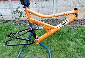 "Carrera Hellcat Frame 20.5 "" Large Orange - Retro Mountain Downhill DH FR Bike"
