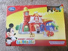Rare Disney Junior Mickey Mouse Clubhouse Mickey Fire Station Play Set