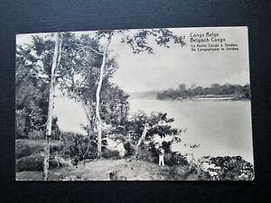 BELGIAN CONGO, RIVER CONGO AT SENDWE - UNKNOWN PUBLISHER (1916)
