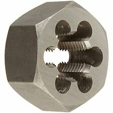 Dwt Series Qualtech Carbon Steel Hex Threading Die, M14 1.5 Size (Pack Of 1)