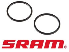 2x SRAM Truvativ GXP Bottom Bracket Spacer 2.5mm - Black - Fits Shimano - 2 Pack