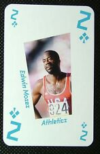 1 x playing card London 2012 Olympic Legends Edwin Moses Athletics 2C