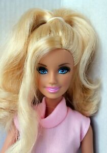 Barbie Doll Life in the Dreamhouse Articulated Rooted Lashes Redressed Cute