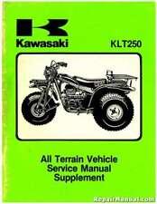 1983-1984 Kawasaki Klt250 Atv Supplement Service Manual