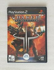 Playstation 2 PS2 - Quake III 3 Revolution - Complete with Manual Free Postage