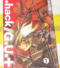 .Hack/G.U. + Hack GU + Vol 1 Hamazaki Graphic Novel Comic 2008 English