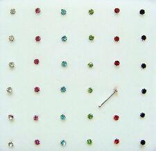 Piercing- & Schmuck aus Sterlingsilber mit Zirkonia-Perlen für den Körper
