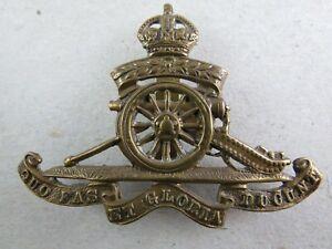 Military Cap Badge Royal Artillery Territorial Force British Army