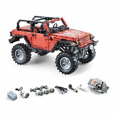 Jeep Wrangler Adventurer RC Off-Road Motor Power Function Blocks Brick Technic