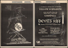 E.L.O._DEVIL's RIFF__Orig. 1977 Trade AD promo/ poster__Electric Light Orchestra