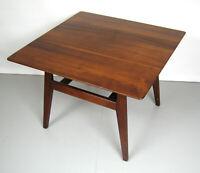 Jens Risom Walnut Table Eames Era-Mid Century Danish Modern