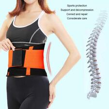 Adjustable Exercise Waist Belt Waist Wrap Lumber Spine Support Posture Corrector