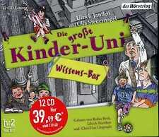 Die große Kinder - Uni Wissens Box Ulrich Jansen Ulla Steuernagel 12 CD KI2706