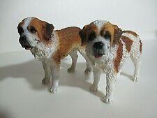 St. Bernard Figurines - Another Set of Twins but Not Identical :)
