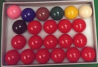 "Brand New Snooker Billiard Table balls Full size set 2 1/16"" (52.5mm) SALE OFFER"