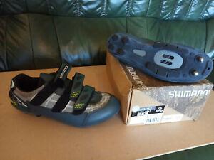 Shimano mountain bike shoe size 43 uk 8/9
