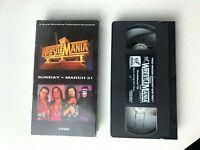WrestleMania 12 1996 Bret Hit Man Hart Shawn Michaels WWF WWE Video VHS