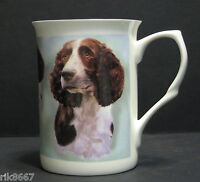 Springer Spaniel dog Fine Bone China Mug Cup Beaker
