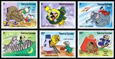 Sierra Leone Scott 601-606, 657-662 (1983-84) Mint LH VF C