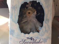 Muffy 1993 limited edition snow flake North American bear