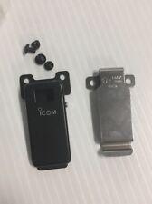 New Icom Heavy Duty Microphone Mic Clip W/ Mounting screws bolts Belt plus Xtra