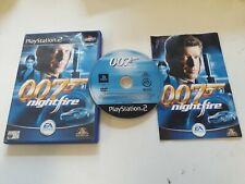 PS2 James Bond 007 Nightfire Sony Playstation 2 Jeu *