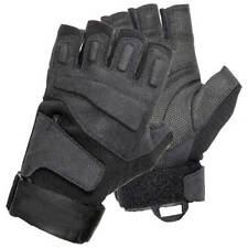 Blackhawk 8068MDBK Men's Black Solag Special Ops 1/2 Finger Assault Glove Med
