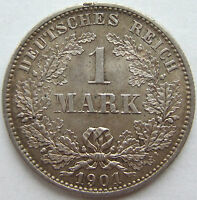 Superior! 1 Marco 1901 E En Extremely fine