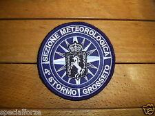 PATCH  4° STORMO - SEZIONE METEOROLOGICA