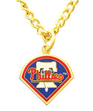 Philadelphia Phillies MLB Logo Necklace