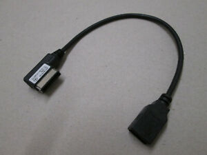 GENUINE MERCEDES USB MEDIA LEAD CABLE RIGHT HAND FITMENT A0018279104