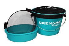 Drennan NEW Coarse Fishing Aqua 25 Ltr Bait Bucket Set