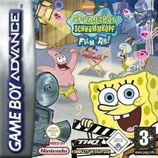 GameBoy Advance - SpongeBob Schwammkopf: Film ab! / Lights, Cam, Pants! Modul
