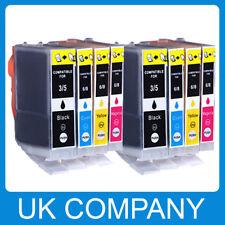 8x Ink Cartridges for Canon Pixma iP3300 iP3500 iP4200 iP5100 iP5200 MP530 PGI5