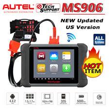 US 2020NEW! Autel OBD2 Scanner ECU Coding Active Test MaxiSys MS906 PK Elite Pro