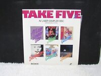 1990 Take Five 2 , AV Laser Sampler Disc, Sony Corporation, Extended Play