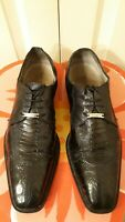 Belvedere Men's Genuine Ostrich skinShoes. Condition is Very Good.