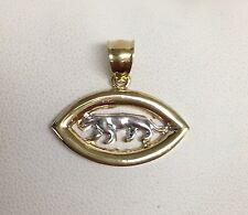 10K Yellow And White Gold FEROCIOUS Cougar Pendant Wholesale R8150
