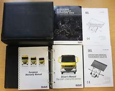 DAF LF45/LF55 Series Manual Del Propietario Manual De Camión Cartera 2006-2014 Pack 15952!