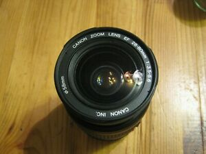 CANON LENS 28-80 with cap hardly used