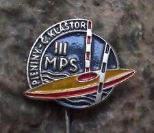 1956 International Canoe Kayak Whitewater Slalom Championships Slovak Pin Badge