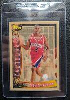 1996 TOPPS YOUTHQUAKE #YQ1 ALLEN IVERSON ROOKIE CARD RC SIXERS HOF