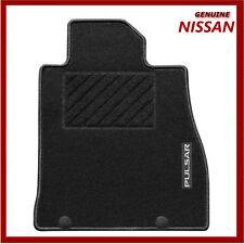 Genuine Nissan Pulsar 2014 Standard Carpet Car Mats. Front & Rear KE7553Z001