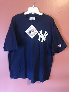 VTG O'Connel Designs NEW YORK YANKEES T-Shirt Jersey NWT Size XL Dead stock
