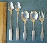 Vintage  5 pc Oneida Community stainless silverware Baby/Child