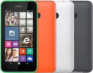 Nokia Lumia 530 - 4GB - Dark Gray (Unlocked) Smartphone (GRADE B)