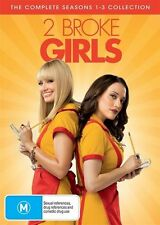 2 BROKE GIRLS THE COMPLETE SEASON 1, 2 & 3 DVD Box Set R4 NEW SEALED